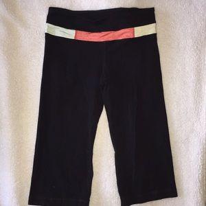 Lululemon reversible black leggings